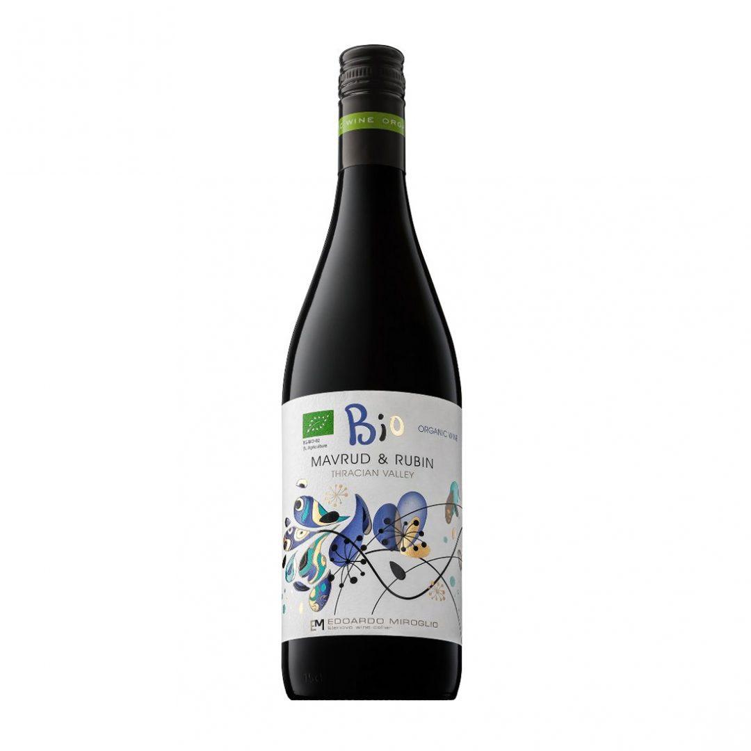 Bio Organic Mavrud & Rubin Red Wine 2016